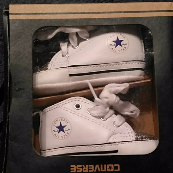 Converse Other - Converse Chuck Taylor First Star Baby Shoes